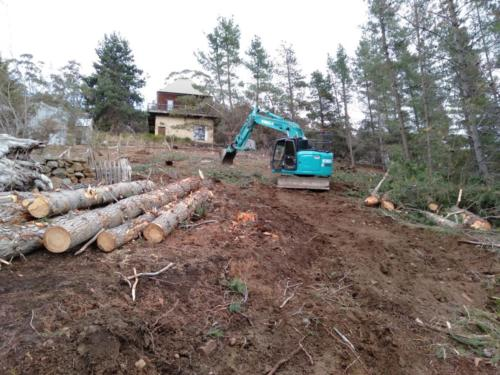 Fire hazard reduction - land clearing